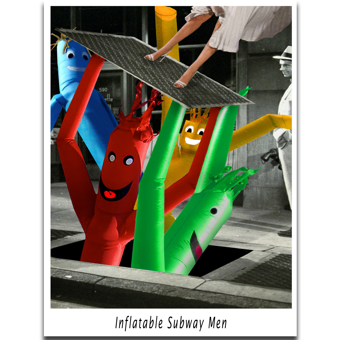 C006 - Inflatable Subway Men