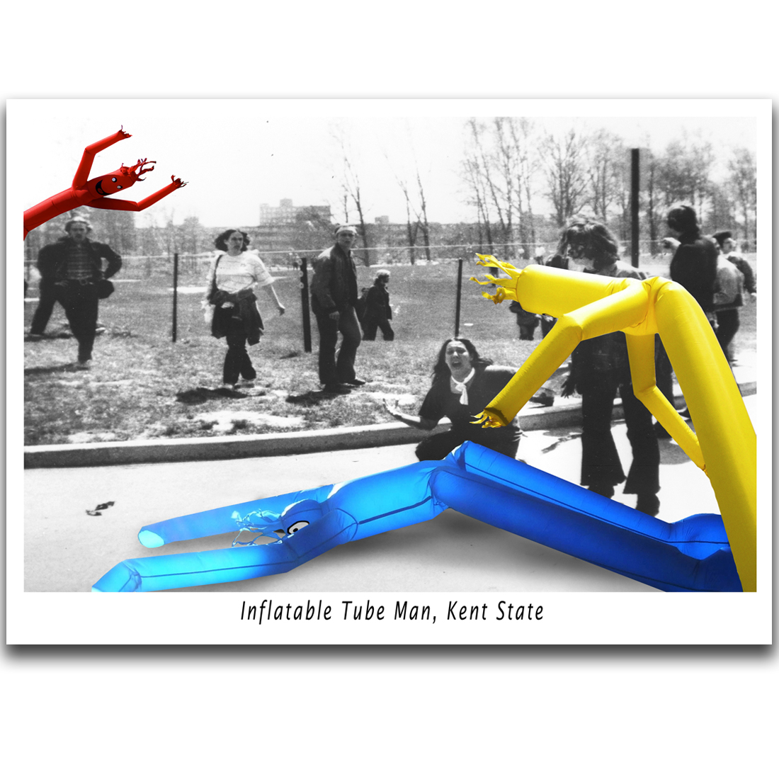 C007- Inflatable Tube Man, Kent State