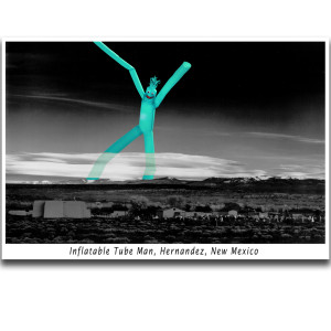C012 Inflatable Tube Man, Hernandez, New Mexico