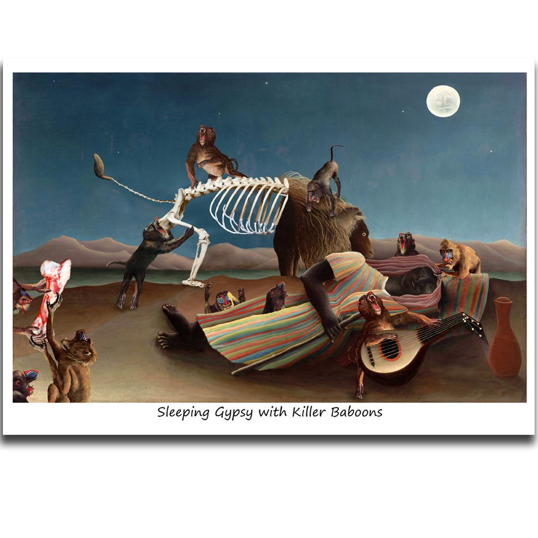 C520 Sleeping Gypsy with Killer Baboons