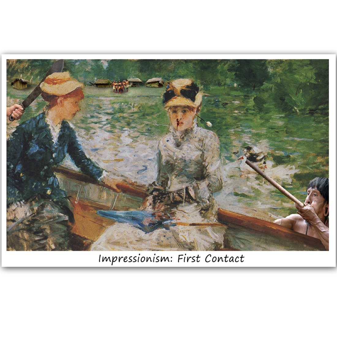 C438 Impressionism First Contact
