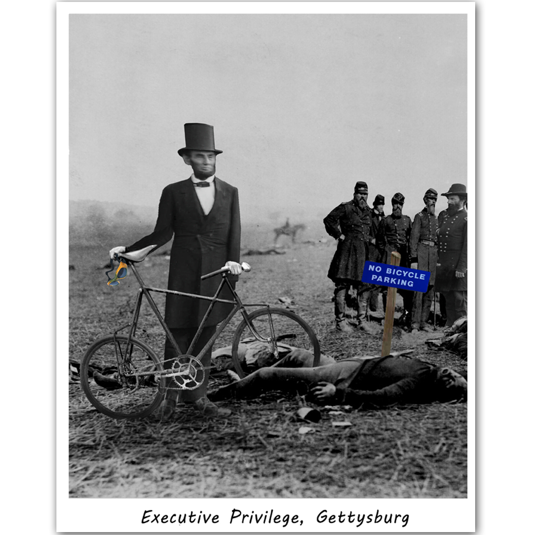 Keat Executive Privilege: Executive Privilege, Gettysburg