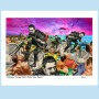 C517 Edmund Dangerfield Rides the Beach  PRINT