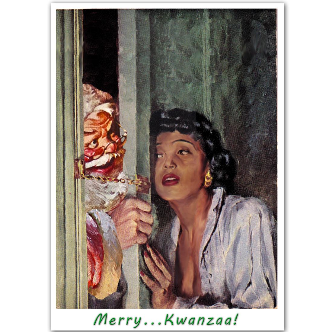 Merry... Kwanzaa!