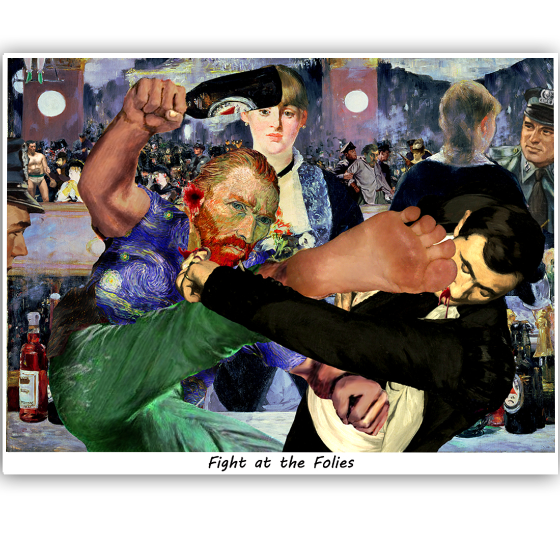 Fight at the Folies