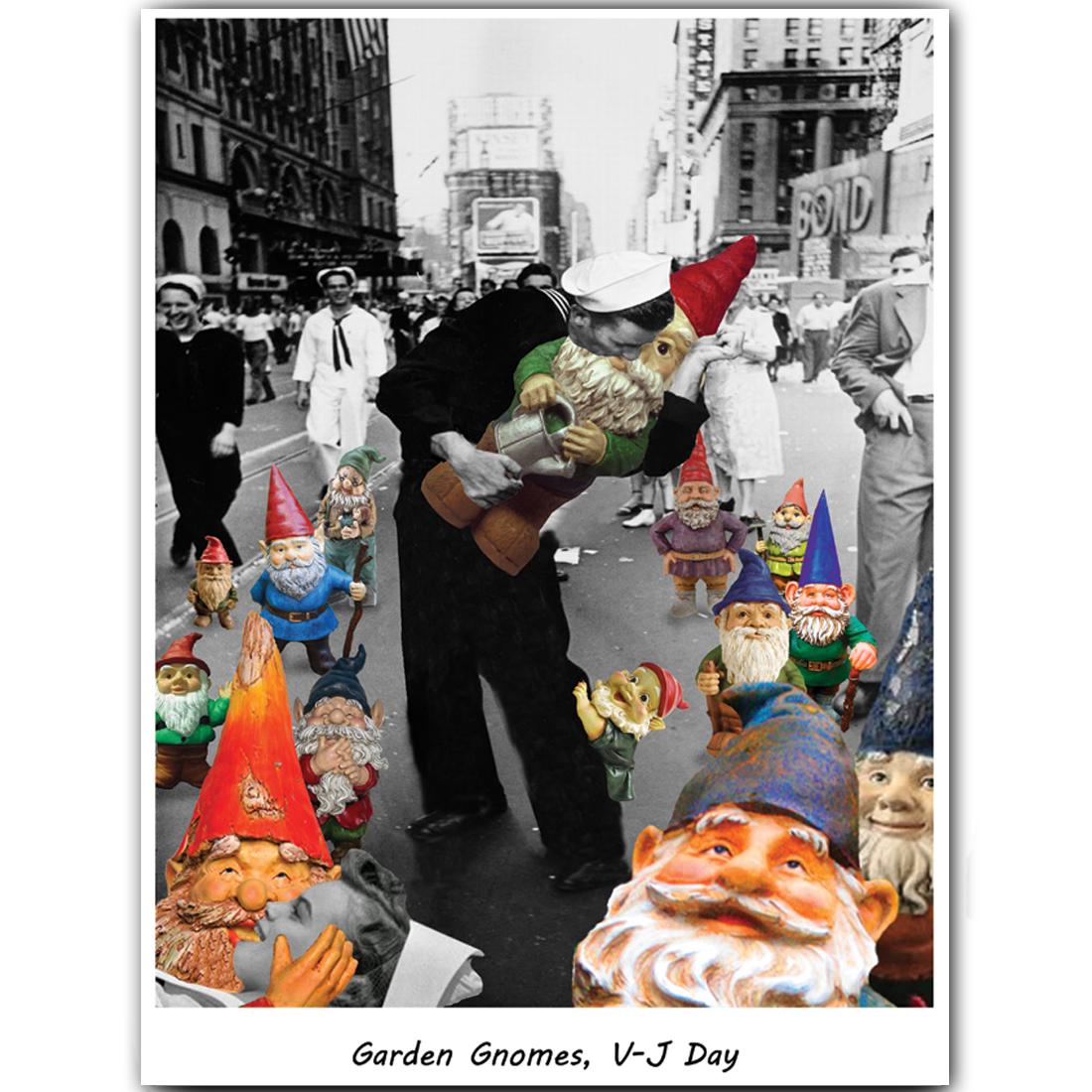 Garden Gnomes V-J Day