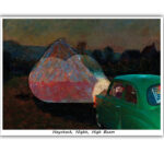 Haystack, Night, High Beam