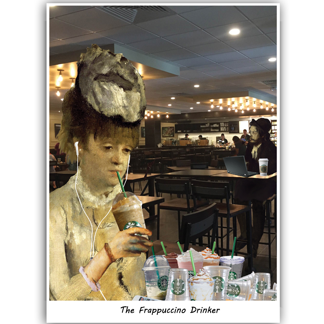 The Frappuccino Drinker