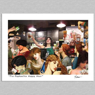 Pre-Raphaelite Happy Hour