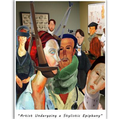 Artist Undergoing a Stylistic Epiphany