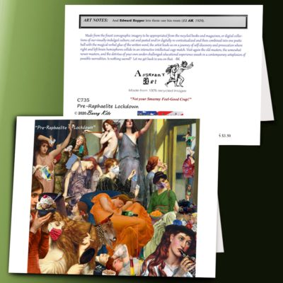 Pre-Raphaelite Lockdown
